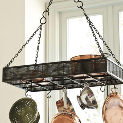 16 Best Images About Pot Rack On Pinterest Ladder Hooks