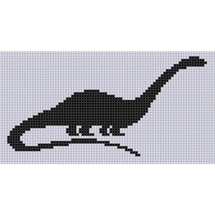 Dinosaur 7 Cross Stitch Pattern