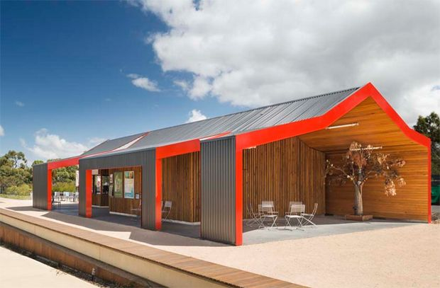 The Australian Garden Shelters by BKK