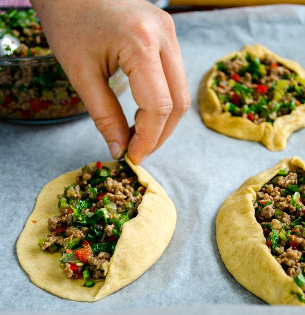 Turkish Pide with Ground Beef | #turkish #pide #groundbeef | giverecipe.com