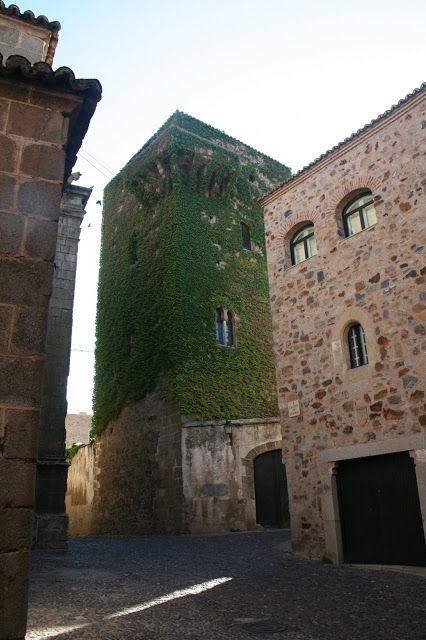 Casa-torre de los Aldana, Cáceres.