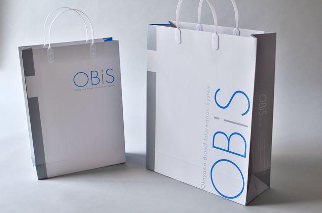 ITデザイン企業 OBIS オービス ビジュアルアイデンティティ デザイン