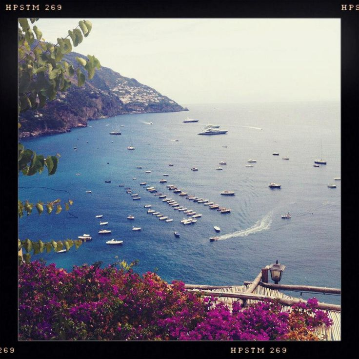 Beautiful Positano, Italy. Wish I was back here now!