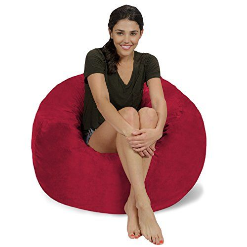 Chill Bag - Bean Bags Memory Foam Bean Bag Chair, 3', Cinnabar Micro - Best 20+ Chill Bag Ideas On Pinterest Accessorize Tote Bags