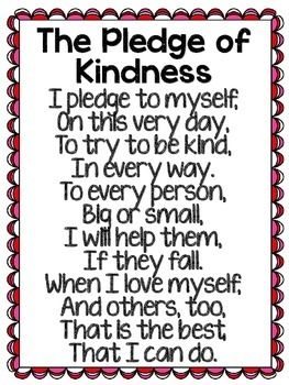 The Pledge of Kindness