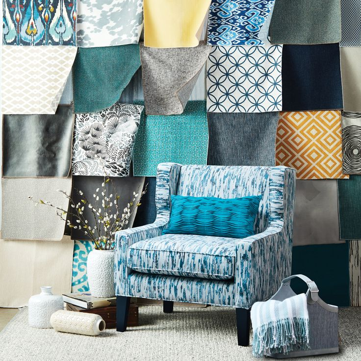 Did you know we have hundreds of fabrics that you can choose from with our custom armchairs and sofas? Visit your local Urban Barn store or online for more info.