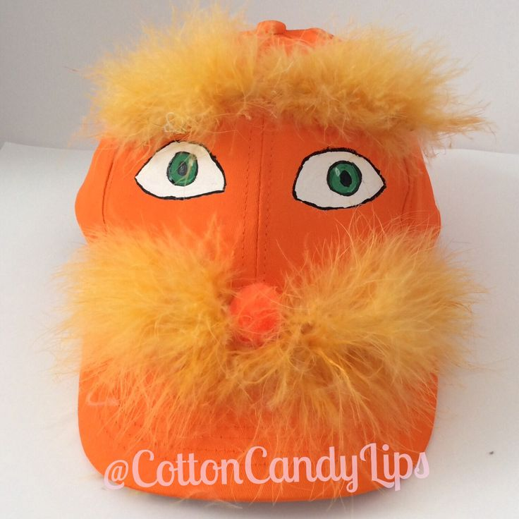 The Lorax Hat for my little one Crazy Hat Day
