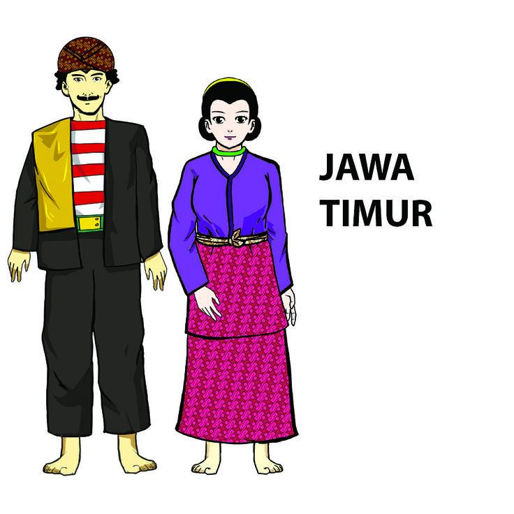 Pakaian adat Jawa Timur (Dengan gambar) Pakaian