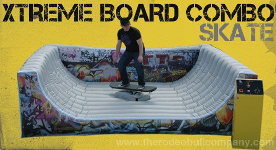 Xtreme Board Combo brings the best elements from the world of extreme action sports and puts it into one great game! http://www.therodeobullcompany.com/Xtreme-Board-Combo.html