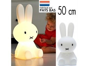 Lampe lapin Miffy S 50cm Papamaria - petit modèle