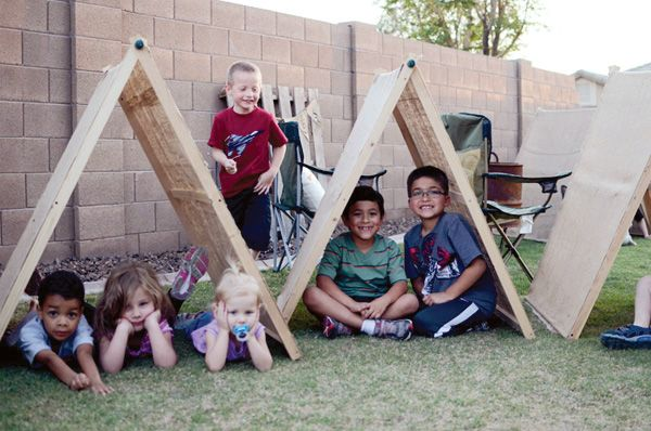 A-Rustic-Kids-Backyard-Camping-Party