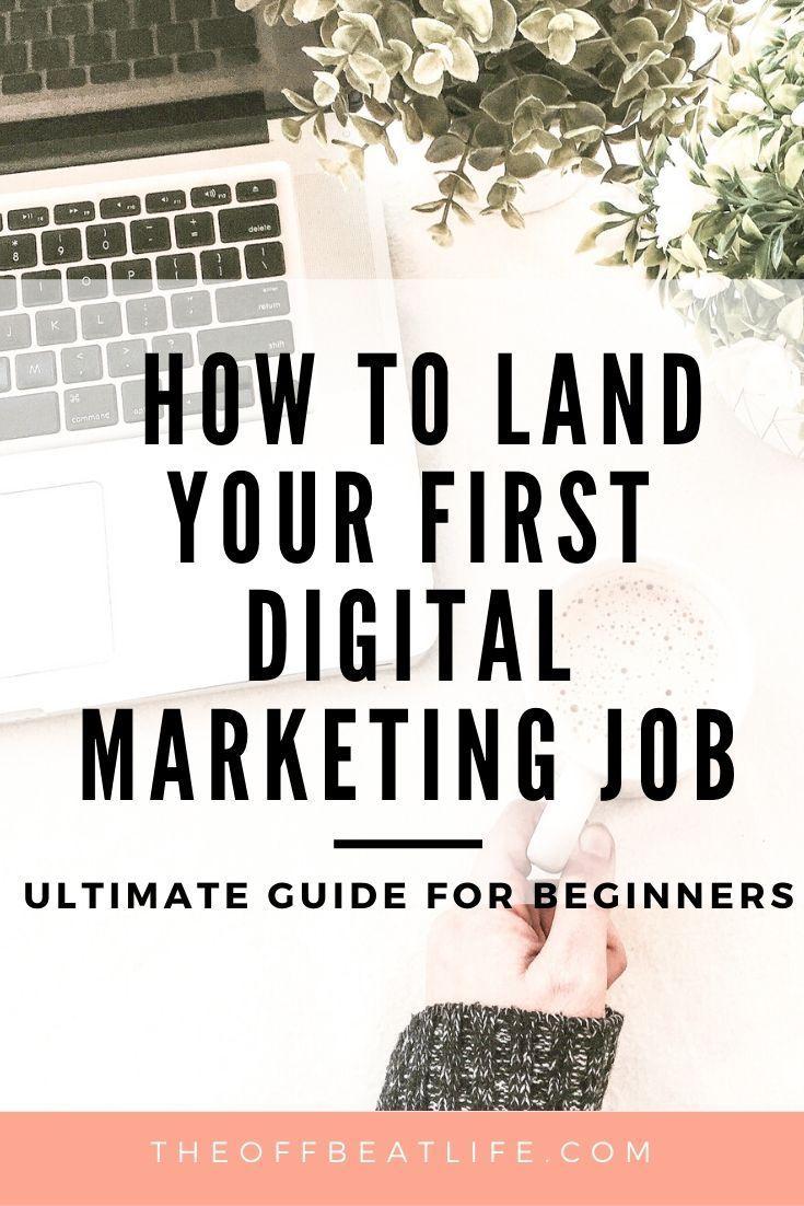 15 Tips To Land An Online Digital Marketing Job Digital Marketing Strategist Digital Marketing Online Digital Marketing