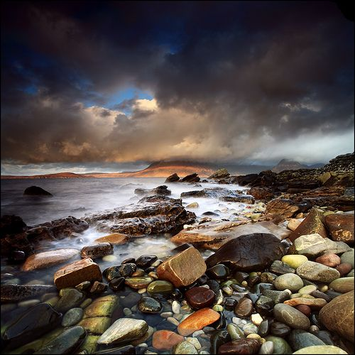 Looking North Elgol, Scotland by Angus Clyne