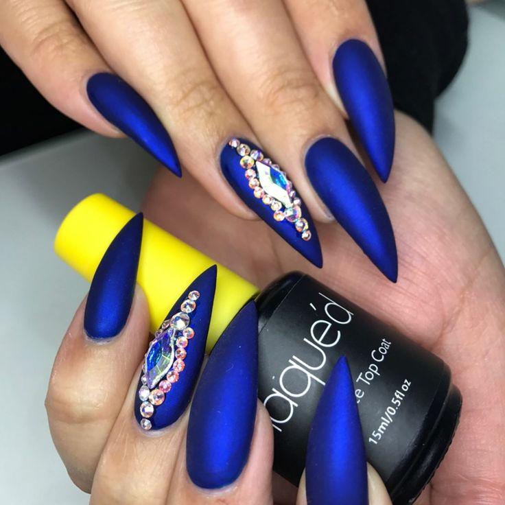 Stiletto Nails – 30 großartige Ideen für extravagante und auffällige Nageldesigns – super Nägel