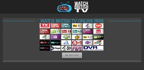 WATCH BRITISH TV ONLINE FREE Get our great British TV for free. All the best channels and shows you are missing from home. No complicated setting up or contracts to worry about. Both catch-up on demand (coming back soon) and live TV. Just