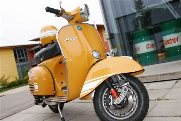 VESPA 200 Rally - Information & spare parts in the ScooterBase | SIP-Scootershop.com
