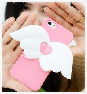 iPhone 5, 5s Angel wings Cover, hoesje, case  http://www.myicover.nl/products/721-iPhone-5-5s-angel-wings-tpu-Cover-hoesje-frontje/