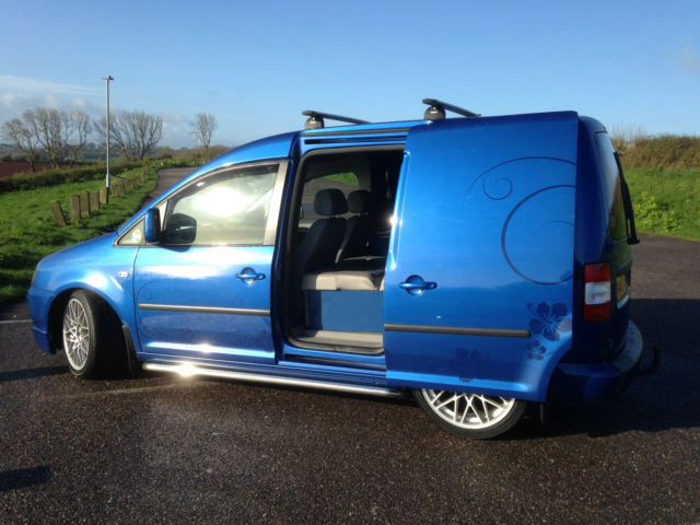 Vw Caddy Conversion Day Vans Campers Pinterest