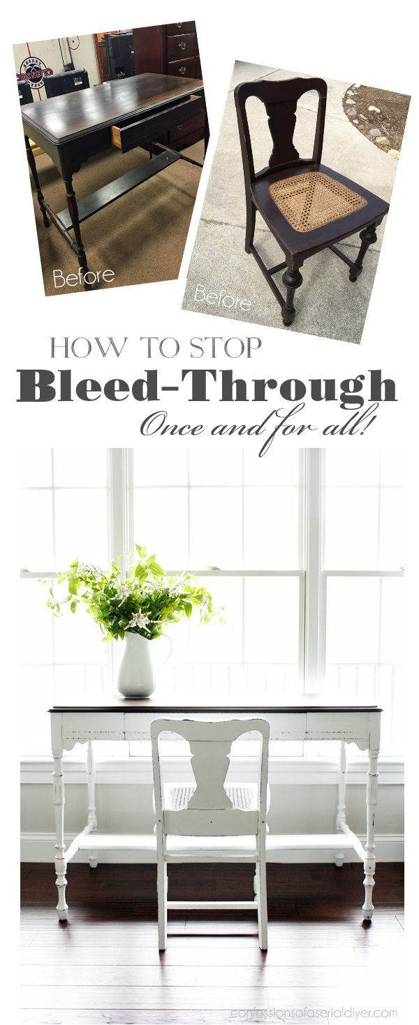 how to stop that pesky bleed through once and for all an antique rh pinterest com