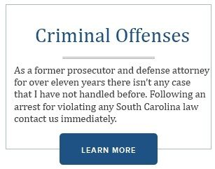 Don't take these charges lightly. Visit http://www.charlestoncriminallawyer.org/ and see what you need to do!