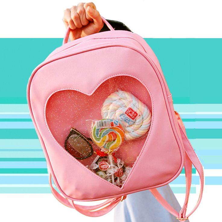 $19.87 (Buy here: https://alitems.com/g/1e8d114494ebda23ff8b16525dc3e8/?i=5&ulp=https%3A%2F%2Fwww.aliexpress.com%2Fitem%2FSummer-Candy-Clear-Heart-Shaped-Backpacks-Harajuku-School-Backpack-Women-Leather-Double-Shoulder-Bags-Teenage-Book%2F32700027064.html ) Summer Candy Clear Heart Shaped Backpacks Harajuku School Backpack Women Leather Double Shoulder Bags Teenage Book Bags JXY588 for just $19.87