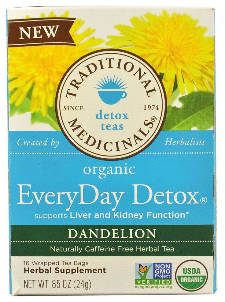 Everyday detox tea benefits