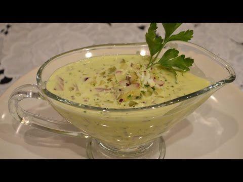Соус с горчицей и маринованными огурцами / Простые рецепты