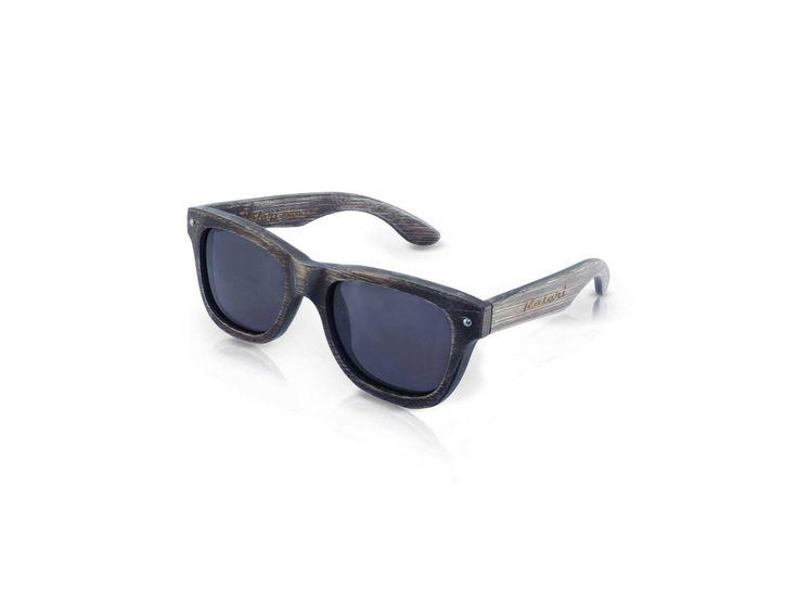 Ecolution Bamboo and Wood - Raleri Sunglasses - Stone Surf Canazei 1139  Cod. 805845019-1139 Gray Coated (Mordente Grigio) Mod. Stone Surf - Bamboo Col. Canazei Lens. Smoked Gray UV400 Polarized + Antiglare