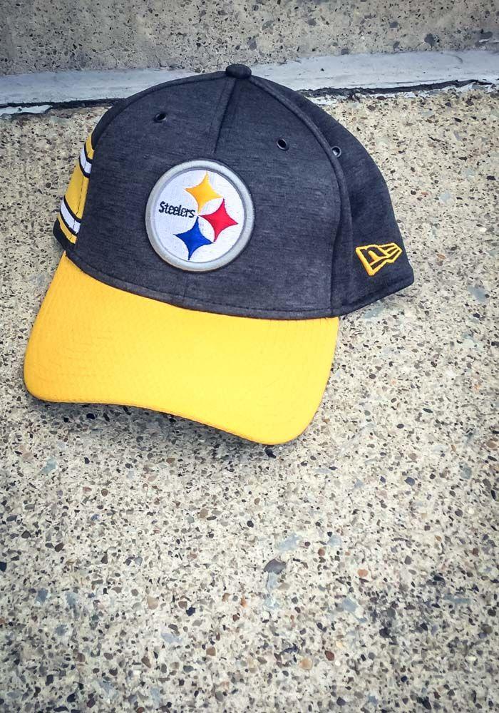 f7ef7c09 New Era Pittsburgh Steelers Mens Black NFL18 Official Sideline Home ...