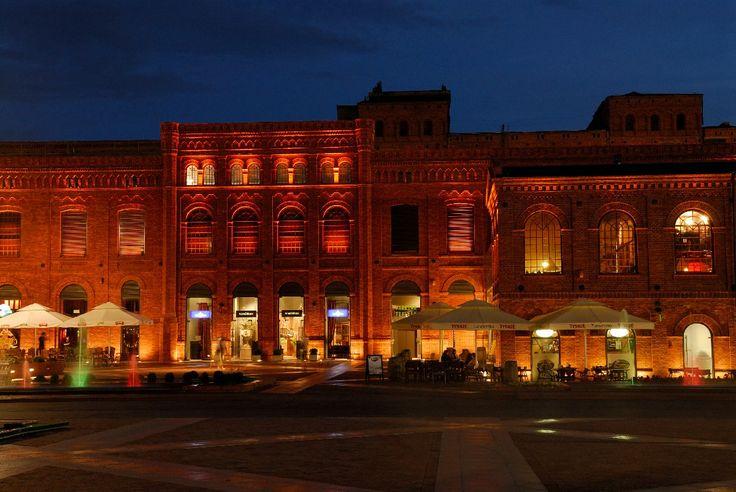 Lodz - Manufaktura http://www.polen.travel/sv/stader-och-stadslivet/lodz-en-stad-av-kreativitet-och-energi