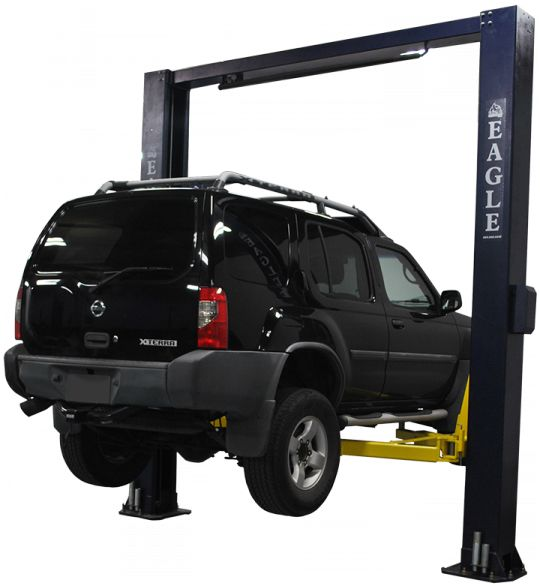 2 Post Car Lift 12,000 lb. Capacity