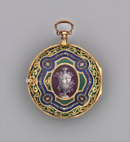 Корпус часов. Создатель: возможно, Джордж Харрисон (британский мастер, известен с 1760 года). Дата создания — около 1770 года. Материал —