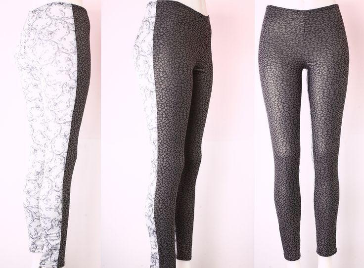 Leggings - NARA® Gemusterte Sommer Leggings/Hose Gr 36/S  - ein Designerstück von Berlinerfashion bei DaWanda