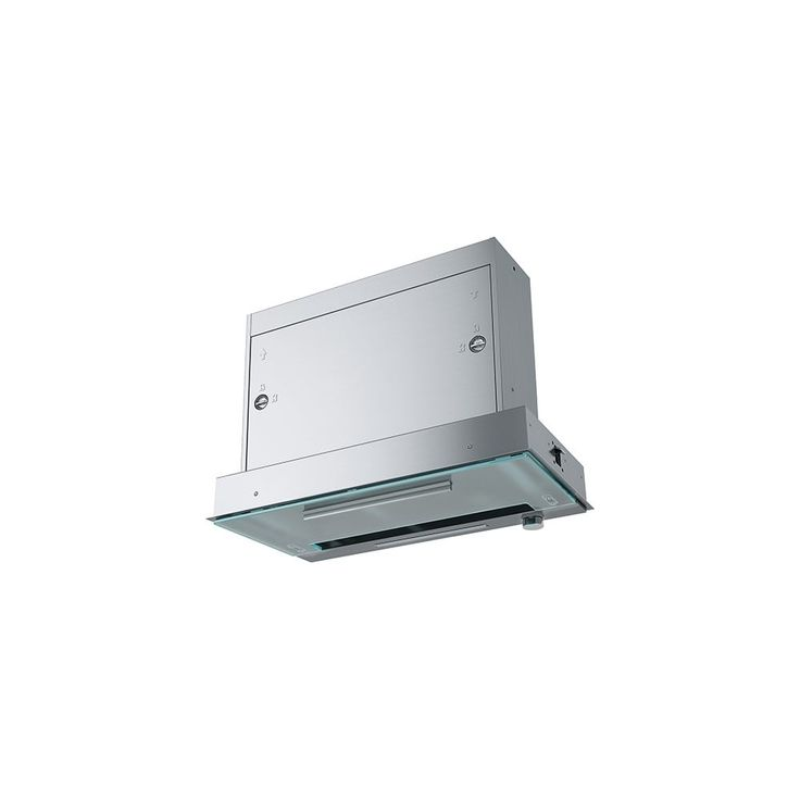 Franke Maris Pull Out Slim Stainless Steel And Glass Pull Out Under Cabinet Hood 600mm Or 900mm