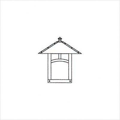 """Arroyo Craftsman EW-F Evergreen Outdoor Wall Lantern with Filigree by Arroyo Craftsman. $265.32. Arroyo Craftsman EW-F Features: -Evergreen collection. -Available in several finishes. -Available in several shade colors. -Available filigree in Pine Needle, Hummingbird and Sycamore. -UL listed. -Suitable in wet location. Specifications: -Accommodates: 1 x 60W Candle / 100W medium incandescent bulb. -Available sizes:. -7.75"""" Overall dimensions: 7.75"""" H x 7"""" W x 4.5"""" D. -Mou..."""