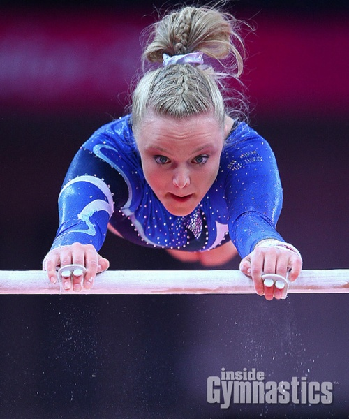 ogc gymnastics meet hair