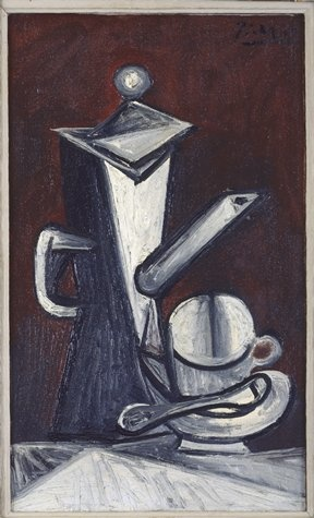 """Pablo Picasso, Still Life """"The Coffee Pot"""", (1944) 