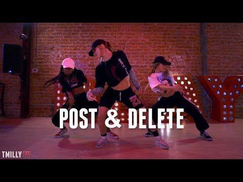 Zoey Dollaz, Chris Brown - POST & DELETE - Dance Choreography by Delaney Glazer - #TMillyTV - YouTube