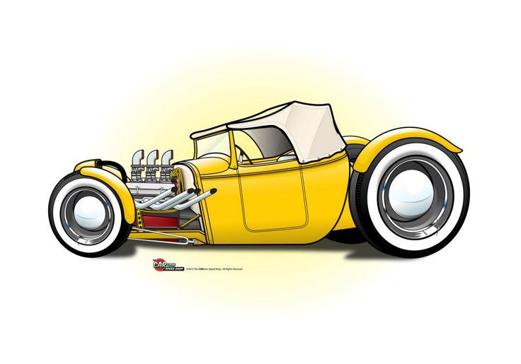 (2) The CARtoon Speed Shop