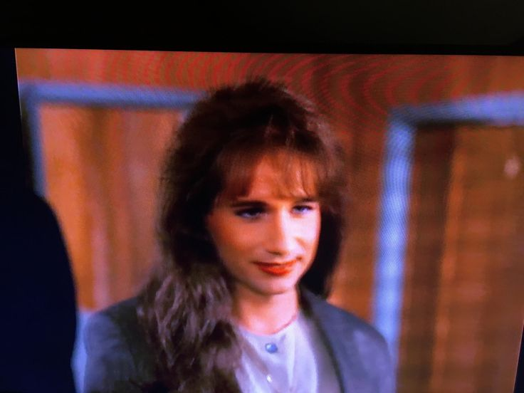 David Duchovny in drag on Twin peaks