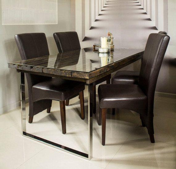 "Oak Table ""Old Wood"""