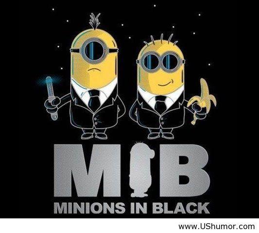 Minons in black........................epic