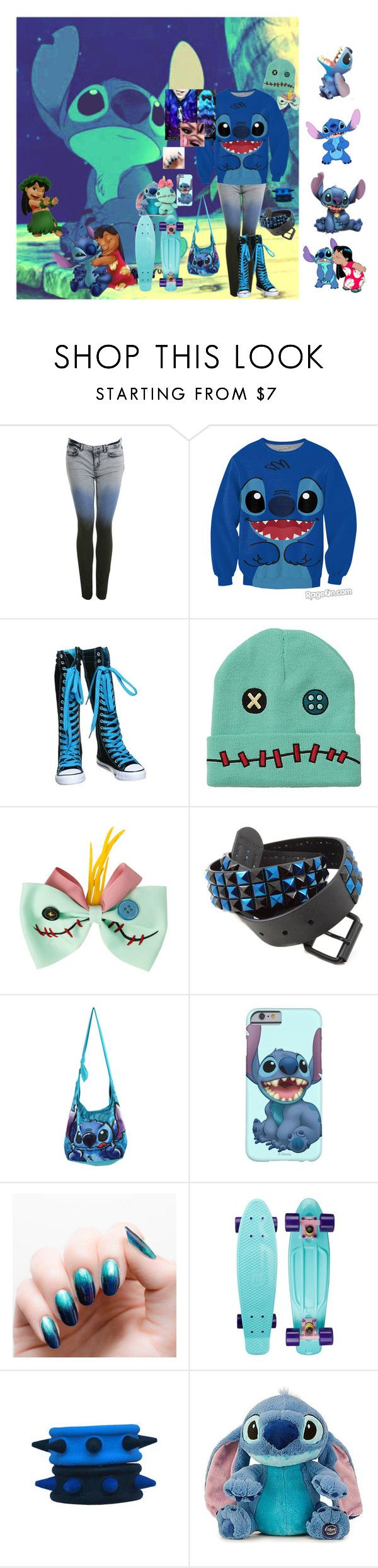 """Lilo and stich outfit 1"" by sjcountrygirl-sj ❤ liked on Polyvore featuring Miss Selfridge and Disney"