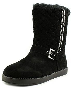 G by Guess Alfred Round Toe Canvas Snow Boot.