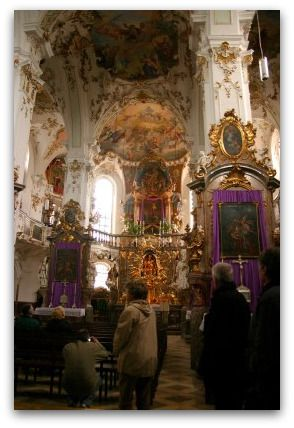 Kloster Andechs: a beautiful church in the alps