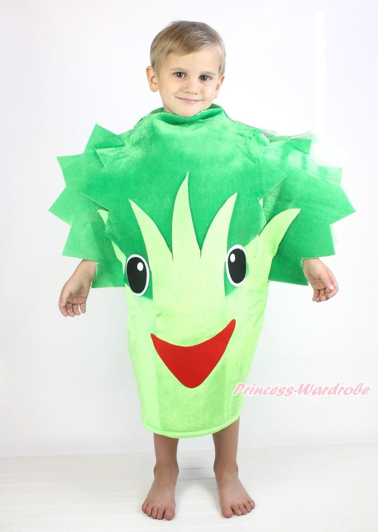 >> Click to Buy << Halloween Party Broccoli Celery One Piece Kids Unisex Vegetables Costume Outfit MACC0046 #Affiliate