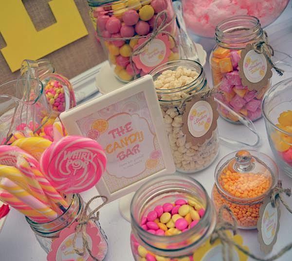 Kara's Party Ideas Lemonade Stand 1st Birthday Party | Kara's Party Ideas