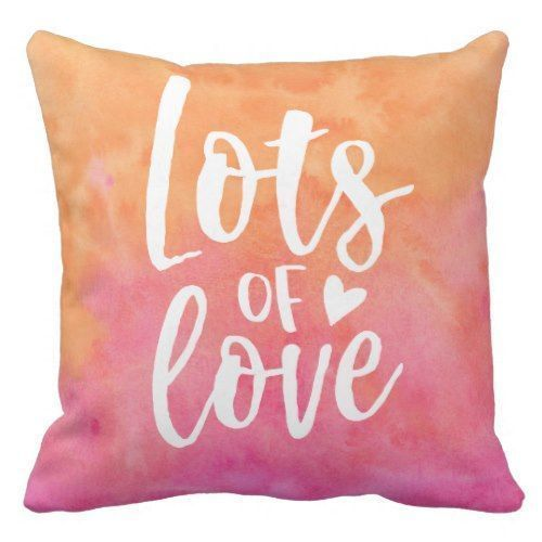How to Decorate with Coral Throw Pillows coral brings positive energy into a room, and surrounding yourself, family, and friends around this kind of amazing energy is simply remarkable. Don't let the lively coral make you think that it can't be done with the different color themes already set inside your home. Coral Pink Throw Pillows Coral Orange Throw Pillows Light Coral Pink Pillows Light Coral Pillows Dark Coral Pillows Lots Of Love Watercolor Typography Throw Pillow