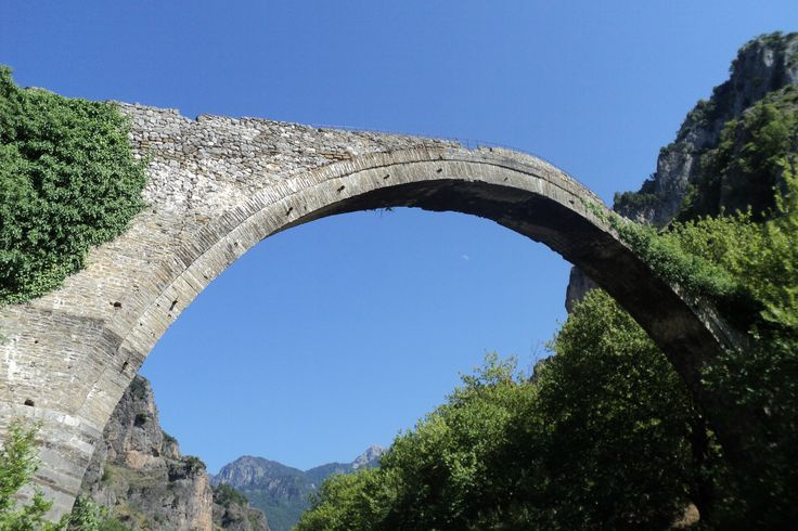 The Stone bridge of Konitsa