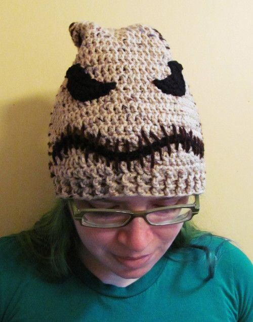 59165f79 Green Oogie Boogie Hat, Beanie Style Custom Any Size, Bag of Bugs